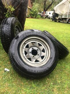 Boat trailer tyres and rims Dunsborough Busselton Area Preview