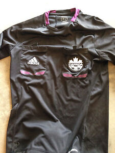 Soccer referee shirt and pads