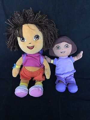 Dora The Explorer Soft Toy Bundle