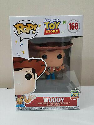 Funko Pop! Toy Story 20th Anniversary Woody, Brand New!