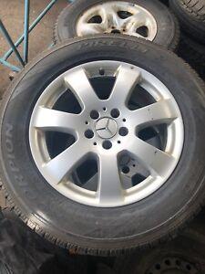 """Mercedes 17"""" Rims/Tires"""