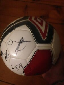 Soccer ball signed by Toronto FC