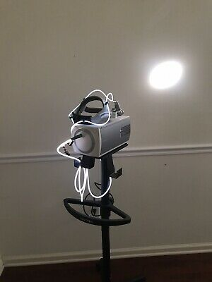 Integra Luxtec Ultralight Surgical Headlight W. Luxtec Clx Light Source Stand