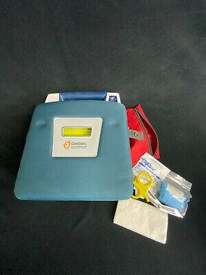 Cardiac Science Powerheart G3 Aed Powered On Works - Battery Low