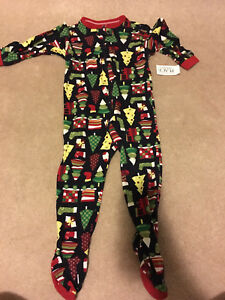 New with tags size 18-24 month cotton Christmas sleeper