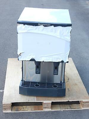 Scotsman Hid525a-1a 500 Lb Countertop Nugget Ice Water Dispenser 25 Lb Storage