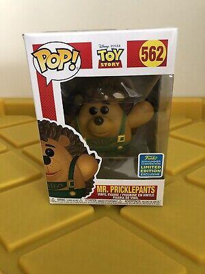 Funko Pop! Mr. Pricklepants #562, 2019 SDCC Limited Edition, Toy Story