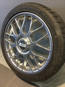 "BBS MESH 17"" GENUINE ALLOY WHEELS AND TYRES Carramar Fairfield Area Preview"