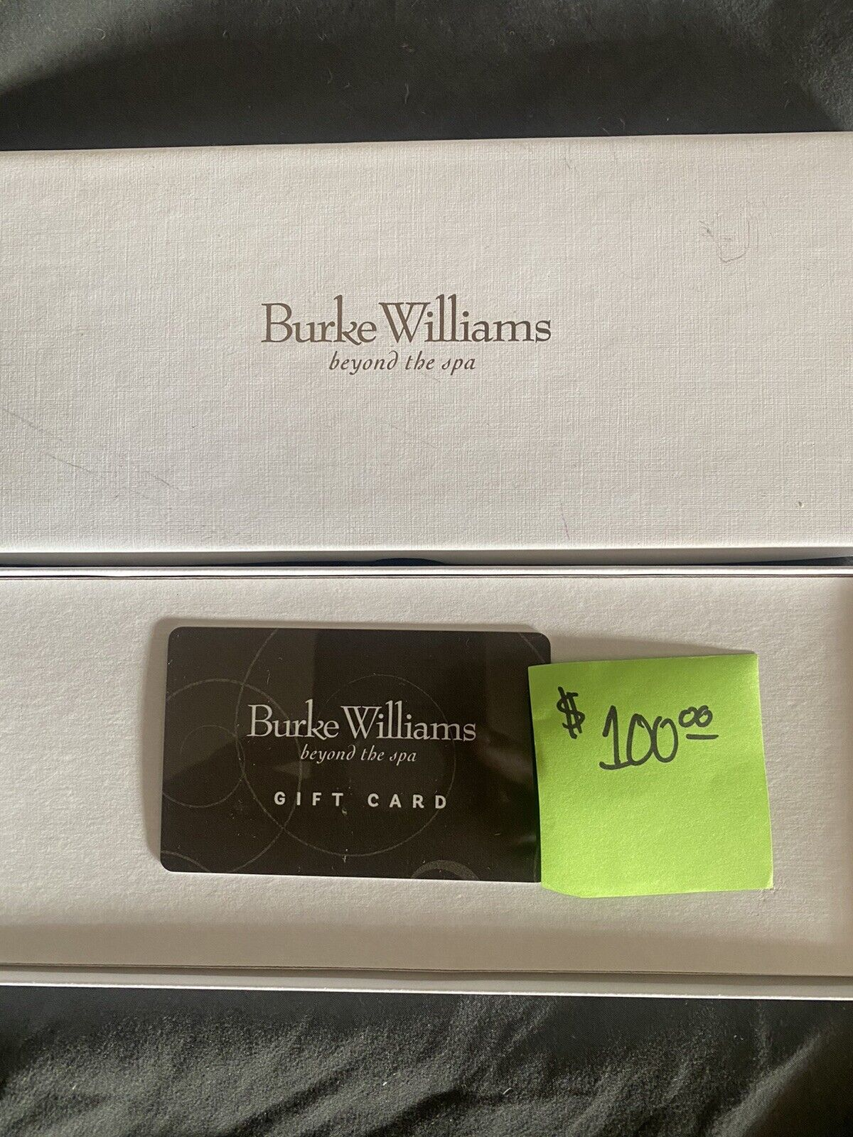 Burke Williams Beyond The Spa Gift Card 100 Value - $68.00