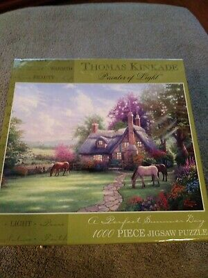 Thomas Kinkade Painter Of Light 1000 Piece Jigsaw Puzzle