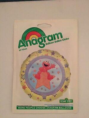 2 X Anagram Sesame Street Elmo Star Helium Foil Balloon - Elmo Helium Balloons