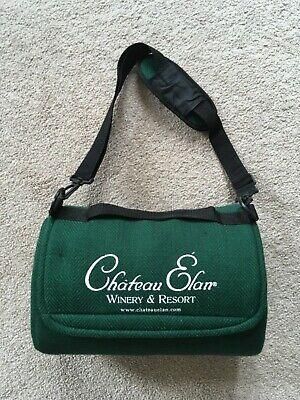 "Chateau Elan Foldable Mega Mat Picnic Blanket Green 100% Waterproof Back 48""x60"""