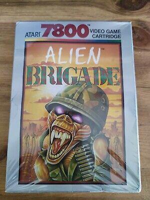 Alien Brigade Sealed Atari 7800 PAL