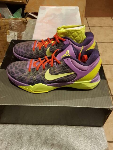 6b61ea804104 Nike Kobe VII Christmas Cheetah Xmas Size 9.5US DS Lebron elite ...