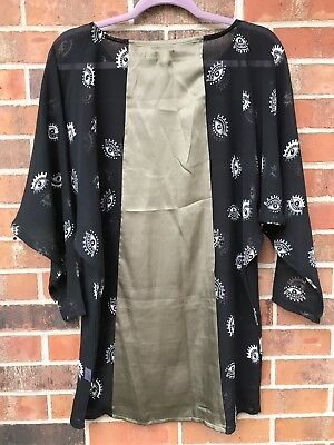 Sheer Eye Shimmer (NTW S Sheer Top Shimmer LF Boutique Tunic eye cultural boho trendy shirt blouse)