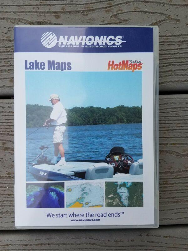 Navionics HotMaps PLATINUM Digital Lake Maps North (V01.22)