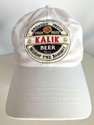 Kalik Beer Adjustable Ball Cap Hat Beer of the Bahamas Brewery Fresh Resort Wear