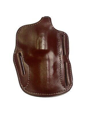 """TRIPLE K 570 HOLSTER FITS S&W X FRAME 4"""" NEW FACTORY BLEMISH SUEDE LINED PANCAKE"""