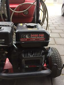 BE 3100 psi power washer