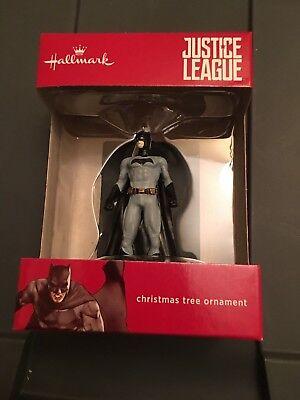 Hallmark 2017 Justice League Batman Christmas Tree Ornament Red Box Edition (Batman Christmas)