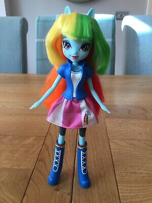 Used, Rainbow Dash My Little Pony Equestria Girls Doll Excellent Condition for sale  Shipping to South Africa