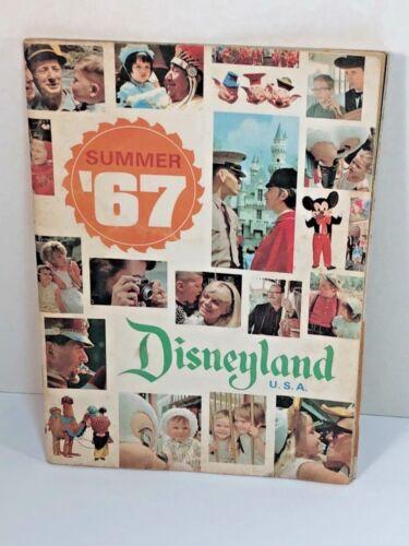Vintage Summer 1967 Disneyland USA NEW Tomorrowland Guide Book Walt Disney