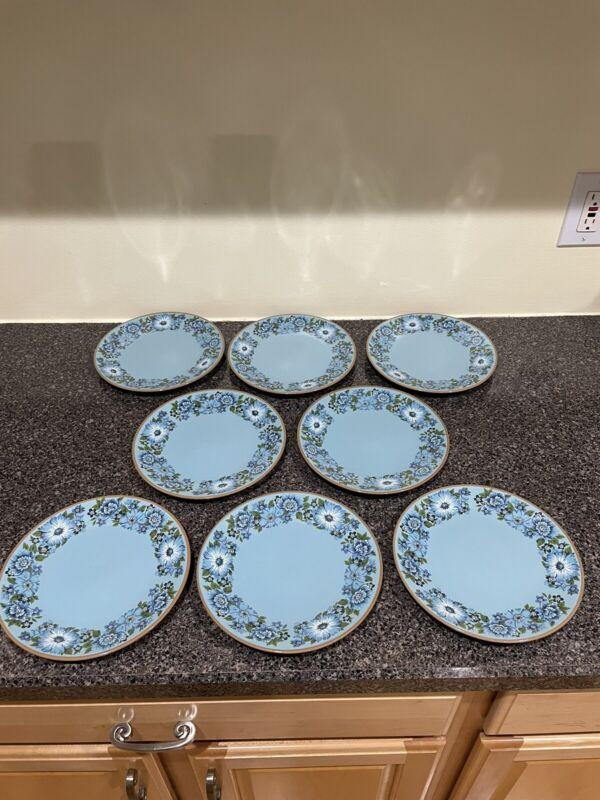 Vintage Mid-Century Taylor Smith & Taylor Design 70 Azura Luncheon Plate