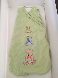 Baby sleeping bags newborn to 6 months x2 Secret Harbour Rockingham Area Preview