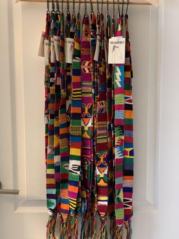 Guatemala Handwoven Sash. Can Be Used As Belt, Headband Or Hatband.