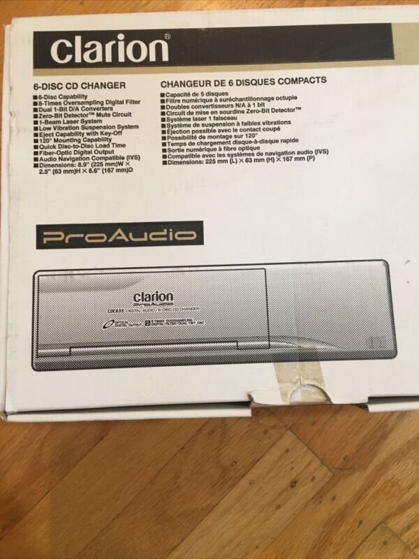 Clarion CDC635 6-Disk CD Changer