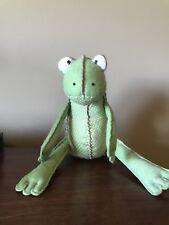 Pottery Barn Kids Plush Frog Lana Green Pink Nwot Ebay