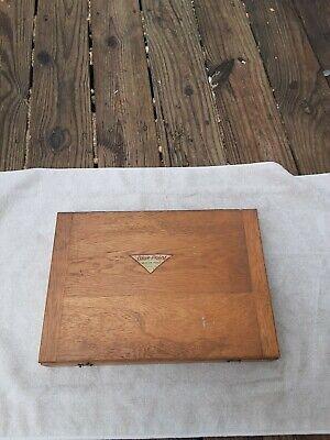 Vintage Blue Point Snap-on Adjustable Reamer Set Wood Box 1116 To 1 -116 Usa