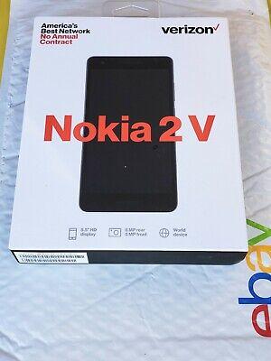 LOT OF 2 VERIZON NOKIA 2 V BRAND NEW PREPAID SMARTPHONE