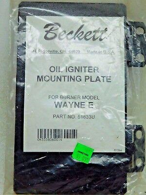New Beckett 51833u Base Plate Kit Wayne E Ignitor Burner New In Package Ap