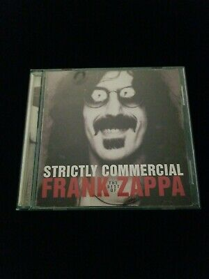 Strictly Commercial: The Best of Frank Zappa by Frank Zappa CD, 1995, (Strictly The Best Cd)