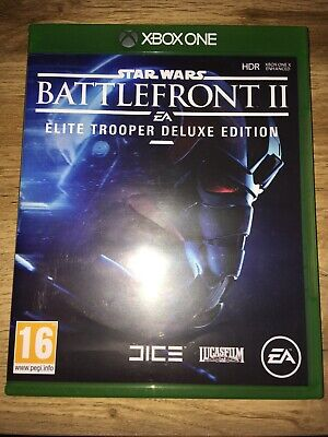 Star Wars Battlefront 2 Elite Trooper Deluxe Edition Xbox One Opened Never Used