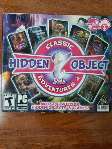 Computer Games - Classic Hidden Object Adventures 7 PC Games Windows 10 8 7 XP Computer New
