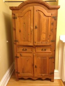 Very nice Santa Fe armoire or TV cabinet