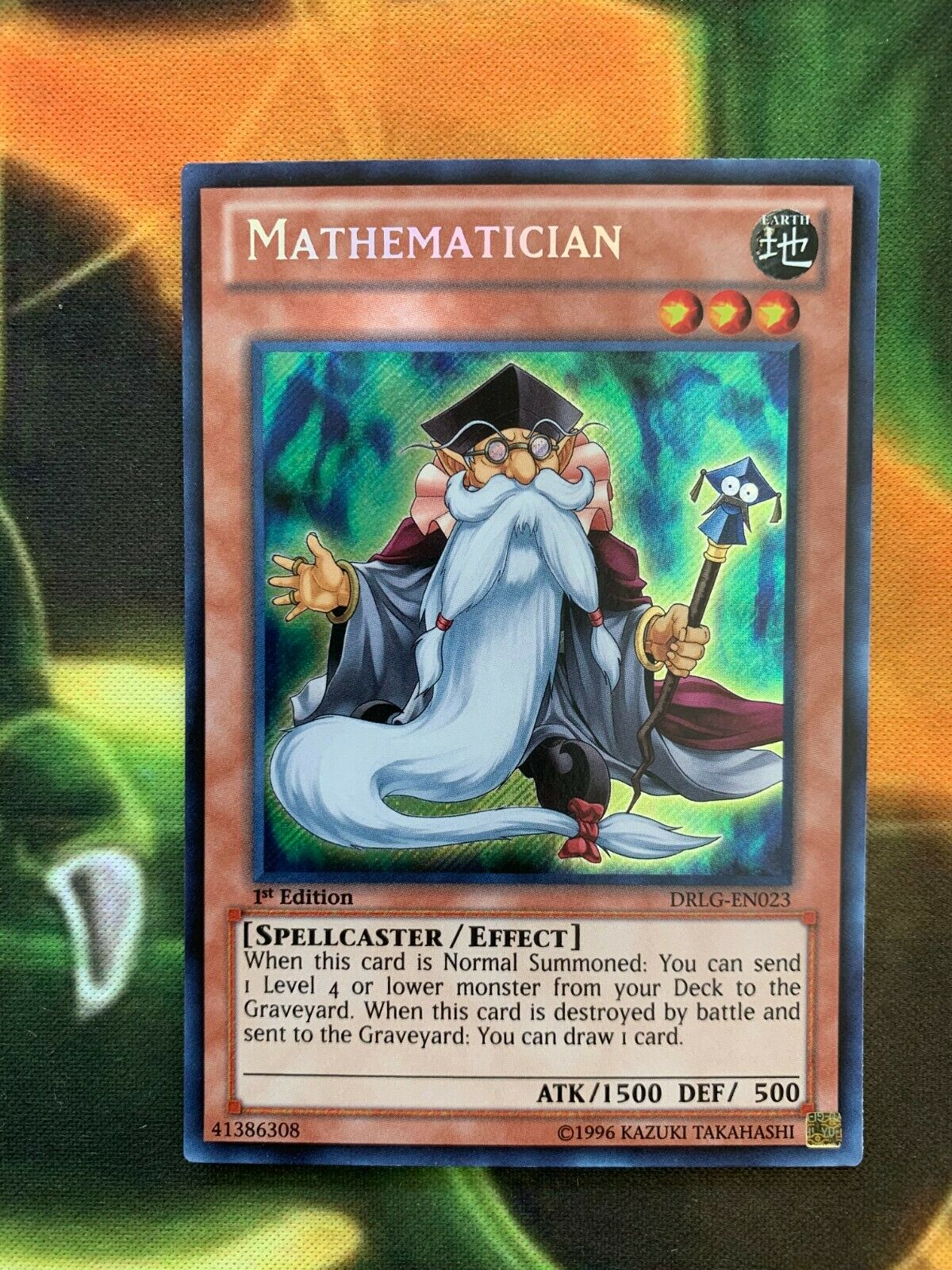 Yugioh Mathematician DRLG-EN023 Secret Rare 1st Ed. Mint  - $5.95