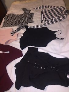 Huge lot of women's brand name clothing size large