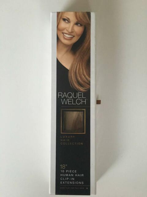 Raquel Welch 18 10 Piece Human Hair Clip In Hair Extensions