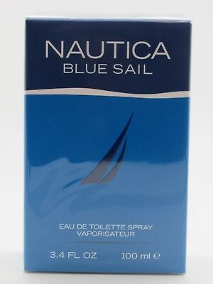 Nautica Blue Sail Cologne by Nautica, 3.4 oz EDT Spray for Men NEW