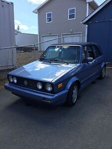 For Sale 1989 VW Cabriolet Convertible