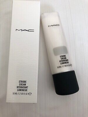 MAC~Strobe Cream Hydratant Lumineux~SILVERITE~Full Size 50 ML BNIB Global Ship