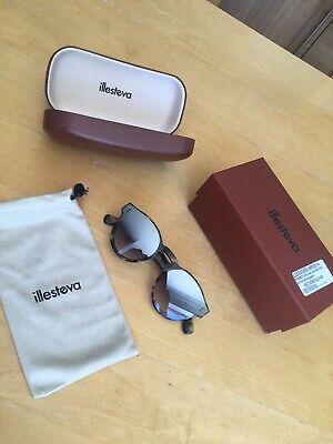 New Illesteva One Point One Tortoiseshell Mirror Sunglasses.Currently Online$260