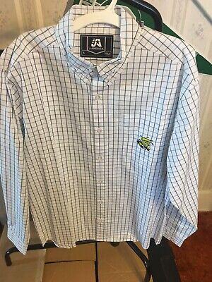 WICHITA STATE SHOCKERS  LONG SLEEVE WOVEN COTTON EMBROIDERED SHIRT J AMERICA Sm - Long Sleeve Woven Shirt