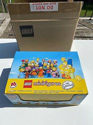LEGO THE SIMPSONS 60  MINIFIGURES SERIES 2  NEUF/ NEW avec boite carton Lego