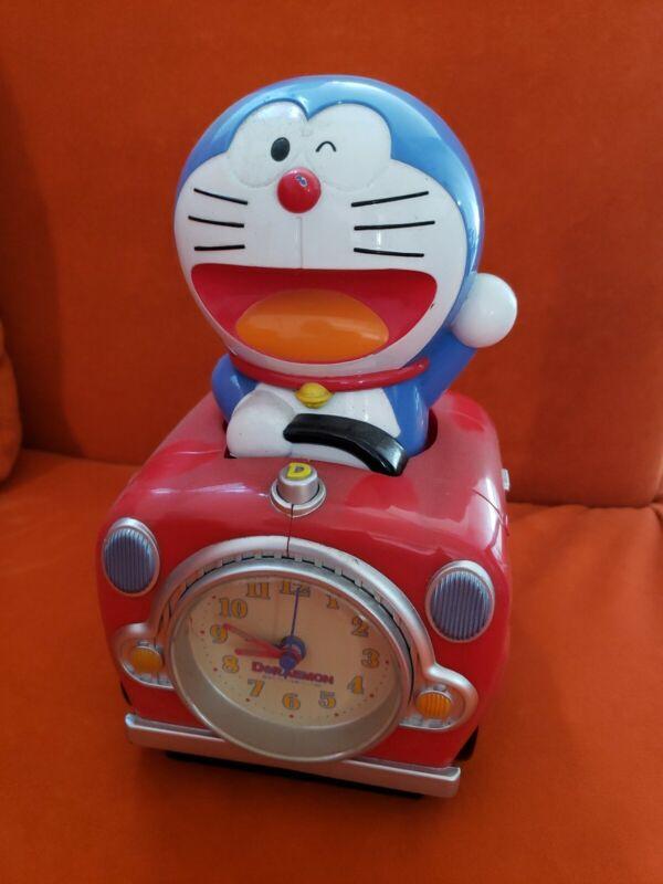 Vintage Japan Manga Doraemon Action Alarm Clock Anime