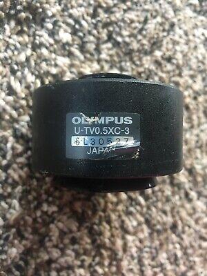 Olympus Microscope C-mount Camera Adapter U-tv0.5xc-3 Orignal