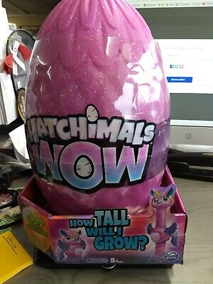 """Hatchimals Wow Llalacorn 32"""" Tall Interactive with Re-Hatchable Egg (Styles Ma.."""